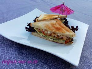 Puten-Sandwich