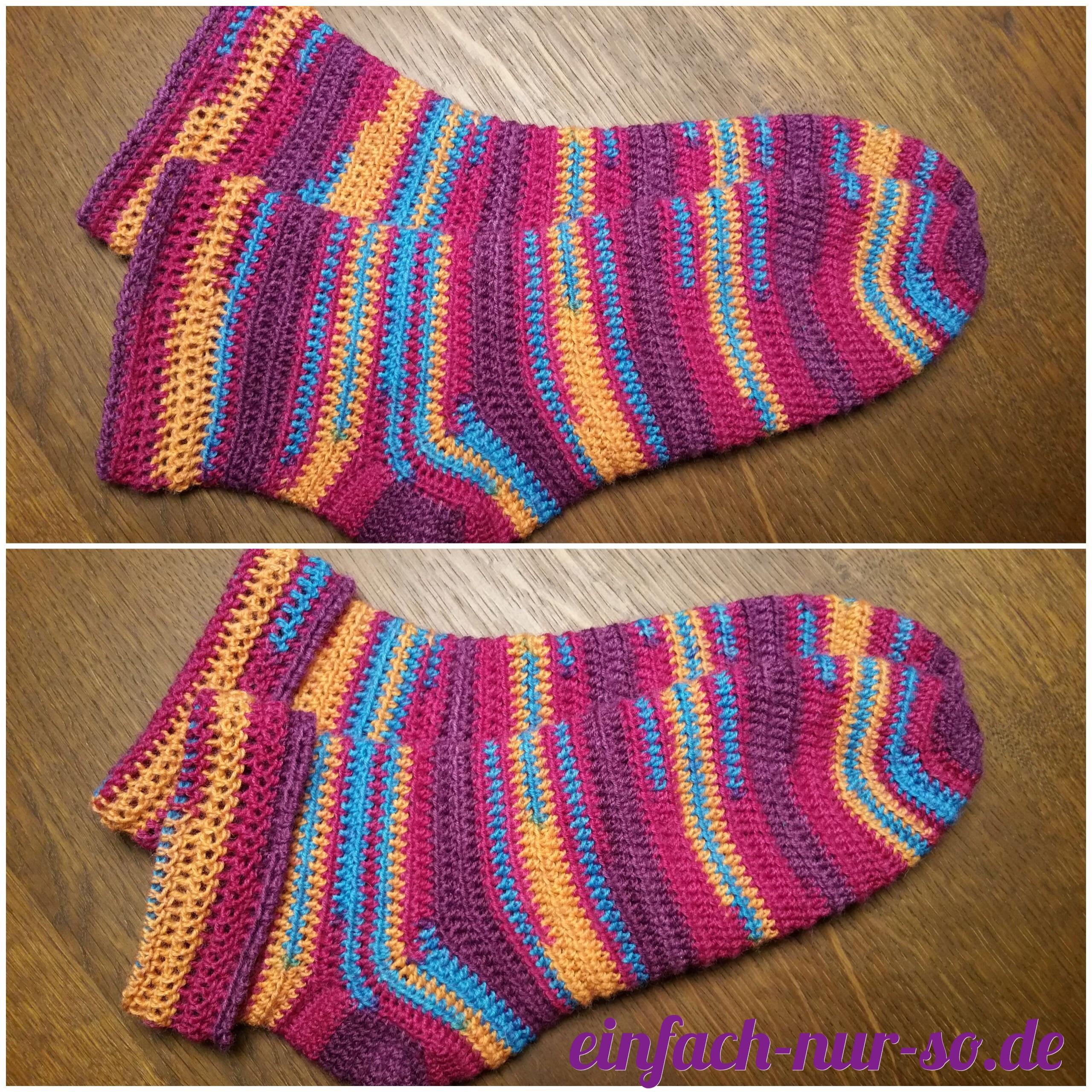 Socken Einfach Nur Sode