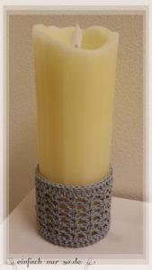 Kerzenmanschette