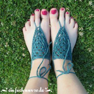 Barfuß Sandale