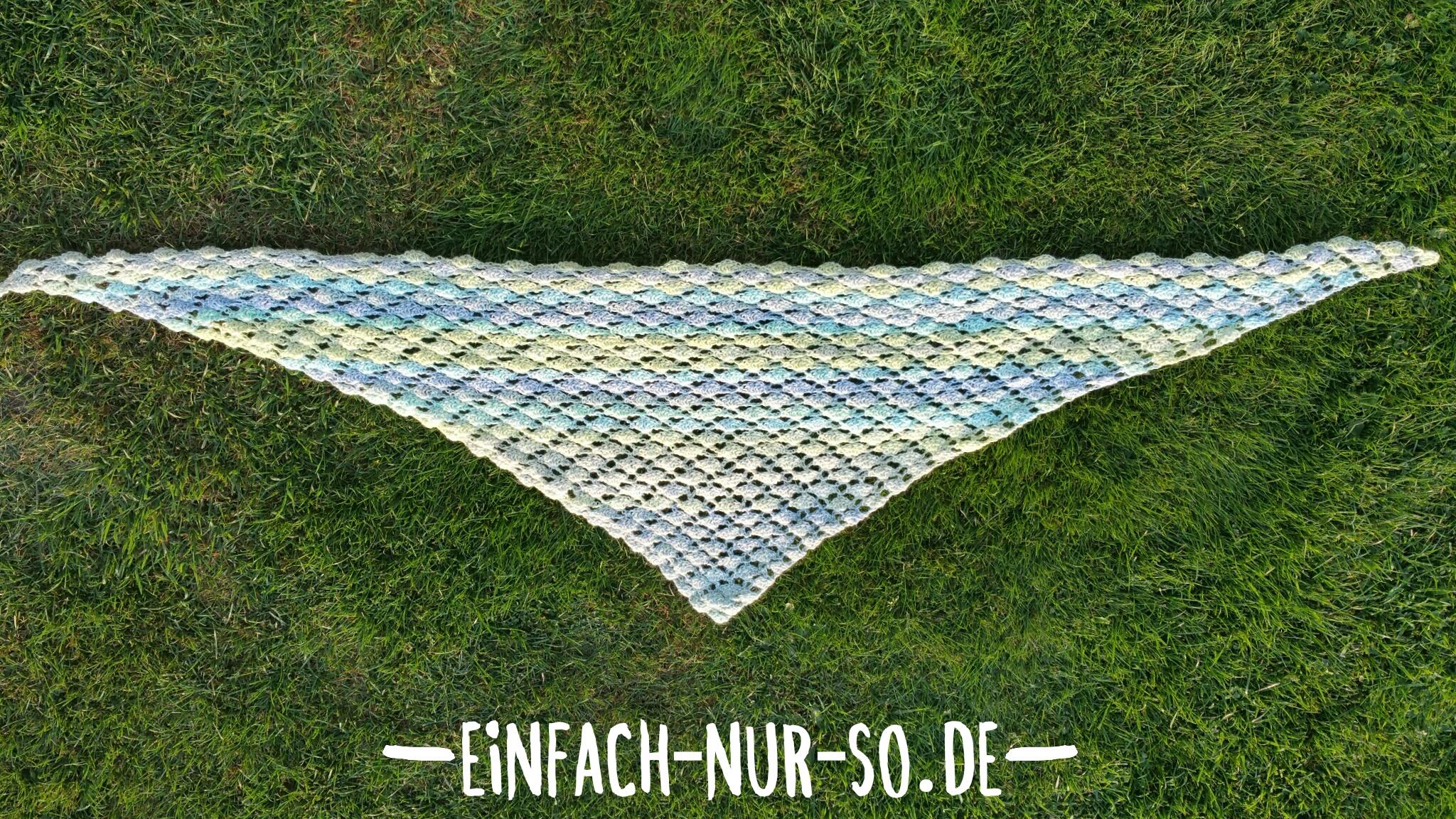 Dreieckstuch Sommerwiese Einfach Nur Sode