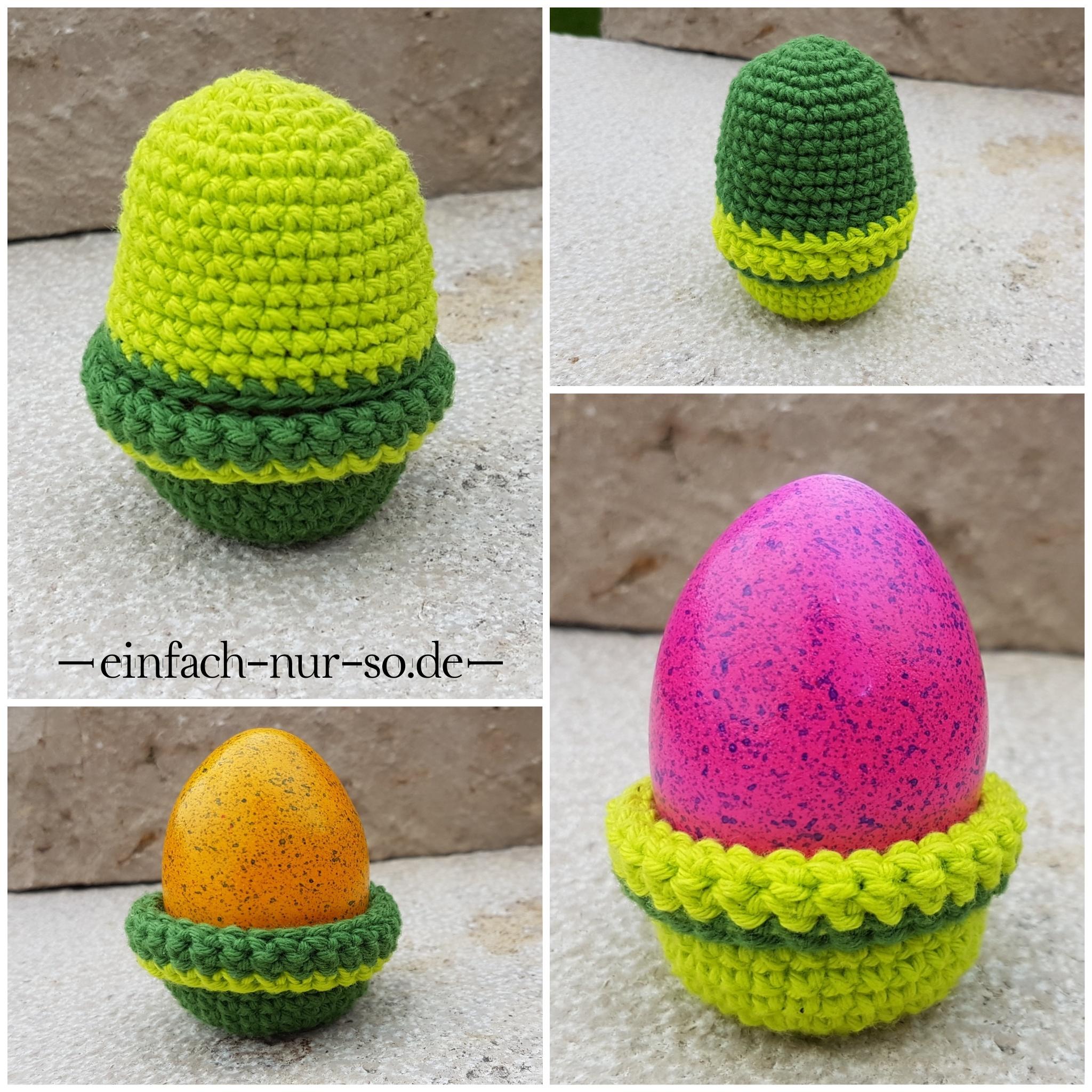 Gehäkelte Eierbecher Eierwärmer Einfach Nur Sode