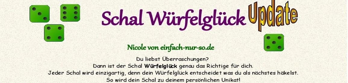 Schal Würfelglück 2 Update (1) Beitragsbild