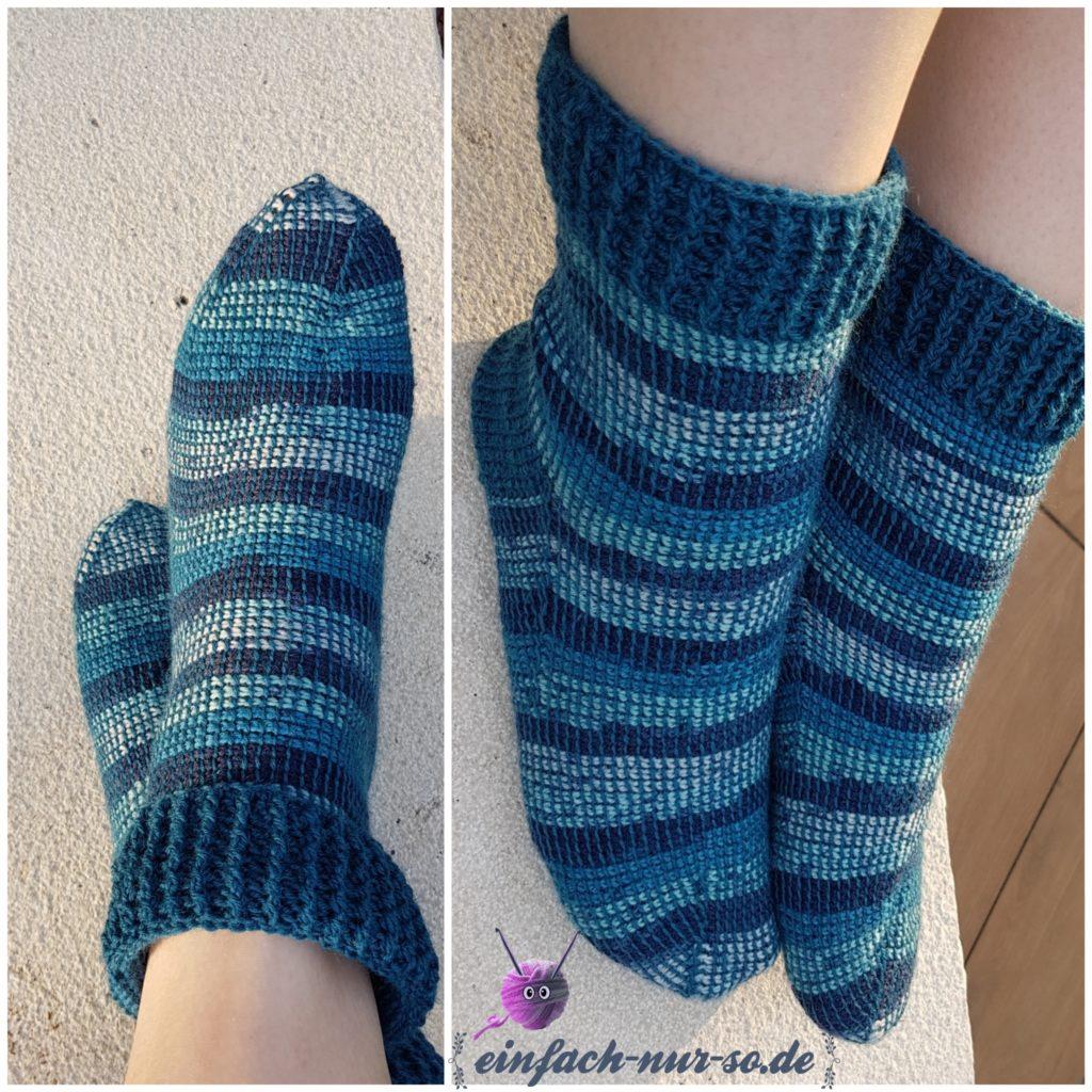 Tunesische Socken (2)