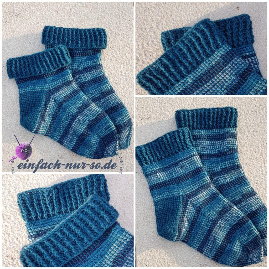 Tunesische Socken (3)