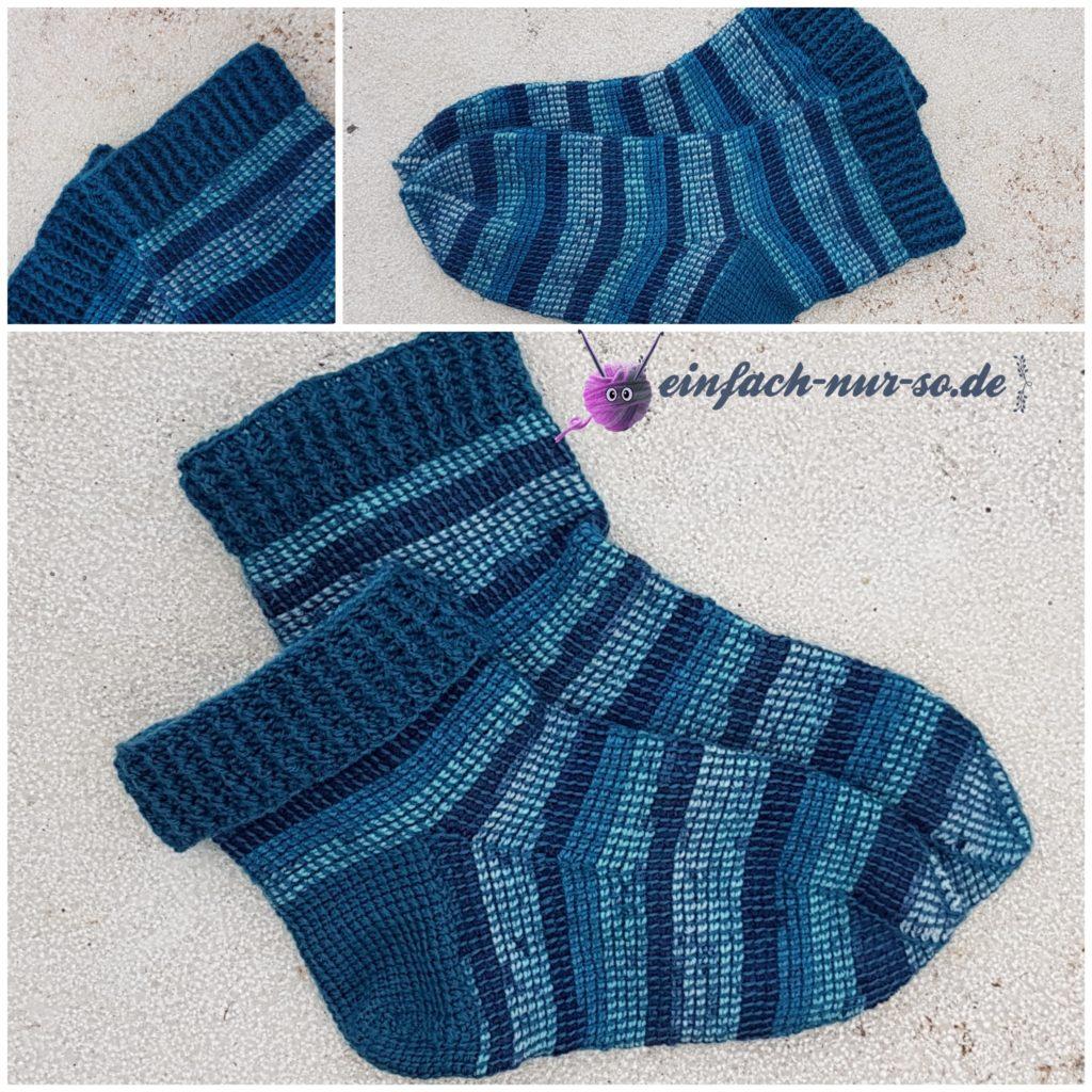 Tunesische Socken (4)