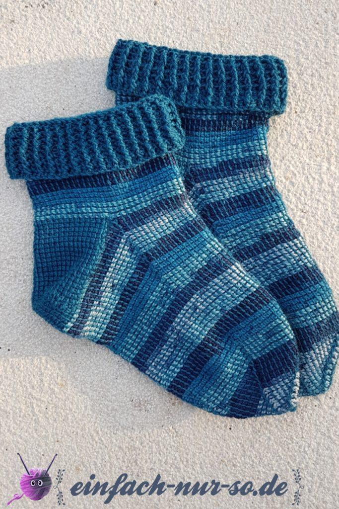Tunesische Socken (6)