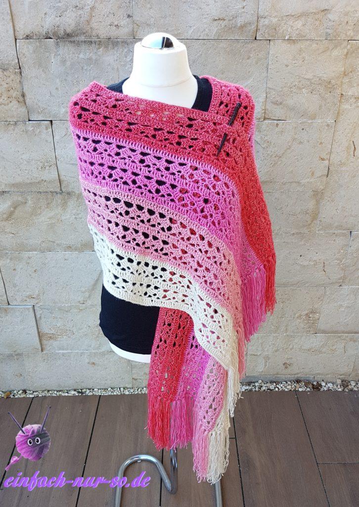 Pink Ribbon Schal (12)a