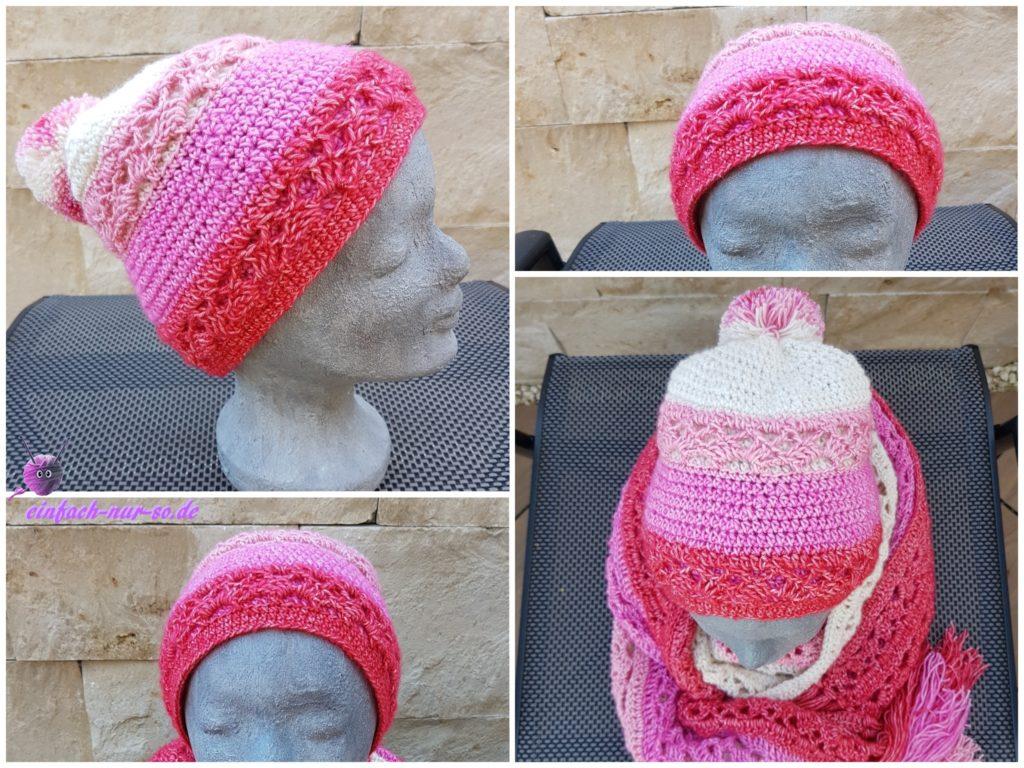 Pink Ribbon Schal (5)